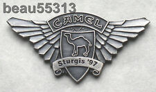 1997 STURGIS CAMEL TENT BIKE WEEK JACKET VEST HAT TAC PIN