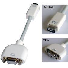Mini DVI to VGA Monitor Video Adapter cable Converter for PC Computer MacBook US