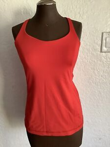 Lululemon Free To Be Tank Burning Red Size 8