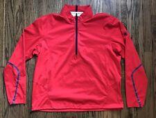 Ralph Lauren RLX Mens Bellagio Half Zip Windbreaker Golf Jacket Size XL