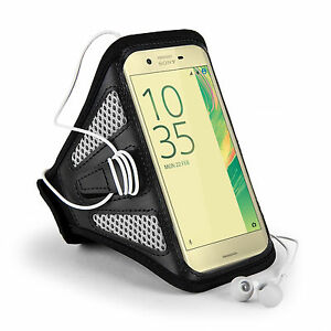 Sumaclife Sport Running Gym Mesh Armband Case Cover For Motorola Moto E5 / Z3