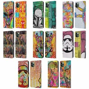 DEAN RUSSO POP CULTURE LEATHER BOOK WALLET CASE COVER FOR APPLE iPHONE PHONES
