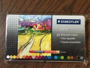 Staedtler Karat Watercolor Crayons  24 pcs