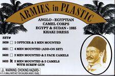 Armies in Plastic Egypt & Sudan Anglo-Egyptian Camel Corps w/Screw Gun Khaki #4