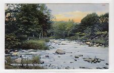MEETING OF THE WATERS, HUNTLY: Aberdeenshire postcard (C12816)