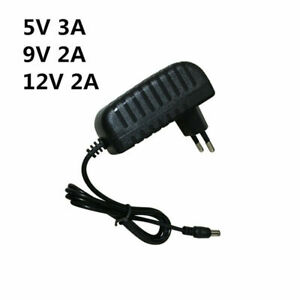 DC5V 9V 12V 24V 1A 2A 3A Adaptor 12V Power Supply Charger Adapter