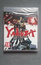YAKUZA DEAD SOULS PS3 PLAYSTATION 3 PRECINTADO SEALED