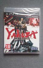 YAKUZA DEAD SOULS PS3 PLAYSTATION 3 PRECINTADO SEALED
