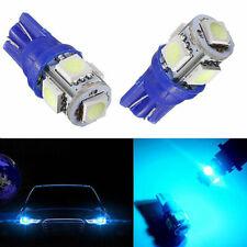 2x Blue LED Bulb Tri-cell 5050 5-SMD Rear License Plate LED Light For Chevrolet