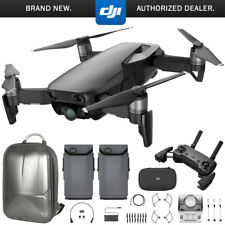 DJI Mavic Air Quadcopter with Remote Controller - Onyx Black Max Flight Bundle