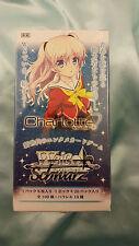 WeiB (Weiss) Schwarz Charlotte Booster Box *Brand New/Sealed*