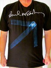 Paul McCartney Up and Coming Arrow Tape Black 2010 Concert Tour T Shirt- XL- EUC