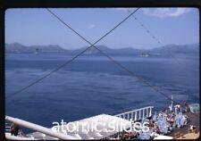 May 1970 kodachrome photo slide  navy ship SS Rotterdam Cap de Formentor Spain