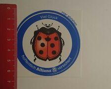 Aufkleber/Sticker: Viel Glück hoffentlich Allianz versichert (140117117)