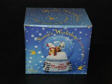 Muffy Vanderbear Muffy'S Santa'S Workshop Snowdome
