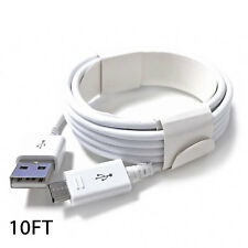 New OEM Rapid Charge Micro USB Cable Fast Charging Cord For Samsung Android 10FT
