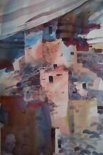 """""""CLIFF PALACE""""  original watercolor by American artist Micheal Jones"""