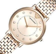 6b6c3d85a4a NEW EMPORIO ARMANI AR11062 LADIES KAPPA ROSE GOLD WATCH - 2 YEARS WARRANTY