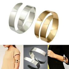 2Pcs Swirl Upper Arm Cuff Armlet Armband Bangle Bracelet For Egypt Cleopatra