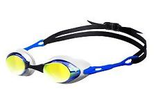 Arena Cobra Mirror Swim Goggle - Mirrored Lens - Blue/Orange/Blue