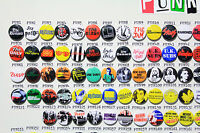 MASSIVE Punk / New Wave Button Badge Collection - 500 Quality Button Badges