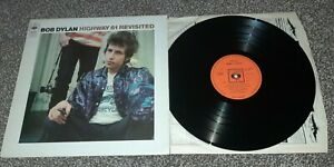 BOB DYLAN/ HIGHWAY 61 REVISITED 1ST UK CBS 1965 PRESS, FOLK ROCK, EXX CON!!!