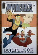 INVINCIBLE SCRIPT BOOK 1, ROBERT KIRKMAN, IMAGE COMICS, FEBRUARY 2006, VF