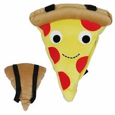 Kidrobot/Yummy mundo Pizza: Mochila Bolso de hombro de felpa para mujer diseñador Kitsch