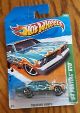Hot Wheels Vhtf 2011 Treasure Hunts Series 64 Pontiac Gto