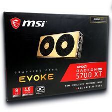 MSI RADEON RX 5700 XT EVOKE OC Graphics Card 8GB GDDR6 1945Hz Rose Gold AMD NAVI