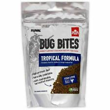 Fluval Bug Bites Tropical Formula Granules For Medium-Large Fish 4.4 Oz