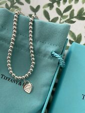 Tiffany Heart Beaded Bracelet 🤍