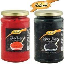 Roland Black & Red Whole Grain LUMPFISH CAVIAR (12oz / 340gr) Product of Iceland