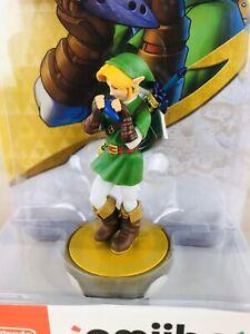 "NEW Nintendo Amiibo LINK ""Ocarina Of Time"" Legend of Zelda Nintendo Switch/3DS"