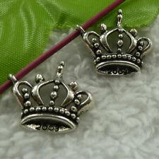 Free Ship 216pcs tibet silver crown charms 21X19mm B3745