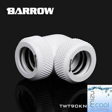 """Barrow G1 / 4 """"BIANCO 90 GRADI COMPRESSIONE doppio Raccordo Per 12mm Rigido Tubo - 305"""