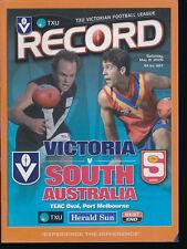 2005 Victoria vs South Australia VFL Football Record