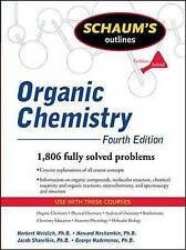 (Good)-Schaum's Outline of Organic Chemistry, Fourth Edition (Schaum's Outline S
