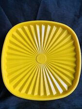 Vintage Tupperware 837-5 Replacement Servalier Square Lid Seal Yellow
