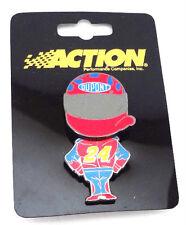 Jeff Gordon #24 NASCAR Dupont Bobble Head Enamel Pin Action Motorsports