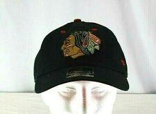 Chicago Blackhawks NHL Black  Baseball Cap Adjustable