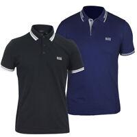 Hugo Boss Green Men's Regular Fit Short Sleeve Paddy Polo Shirt