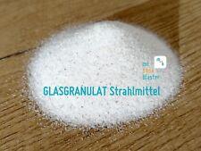 GLASGRANULAT STRAHLMITTEL 10 kg VITROBLAST - Sandstrahlen, Glasbruch, Glasmehl