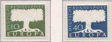 Europa CEPT 1957 Duitsland 268-269 - MNH