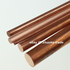 Φ40mm T2 Copper Round Rod Pure D40mm Any Length Solid Lathe Bar Cut Stock Metal