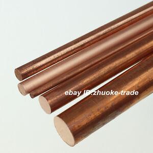 Φ50mm T2 Copper Round Rod Pure D50mm Any Length Solid Lathe Bar Cut Stock Metal