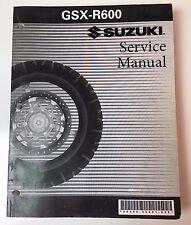 Suzuki OEM Service Manual 2005 GSX-R600 Motorcycle 99500-35091-03E (G)