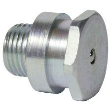 M10 x 1,5 [10 Stück] DIN 3404 T1 Flachschmiernippel Stahl verzinkt