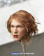 1/6 Hot CUSTOM REPAINT REHAIR toys Alice Resident Evil figure head kumik phicen