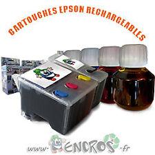 RECHARGEABLE Pack de 2 Cartouches Rechargeables EPSON T040/T041